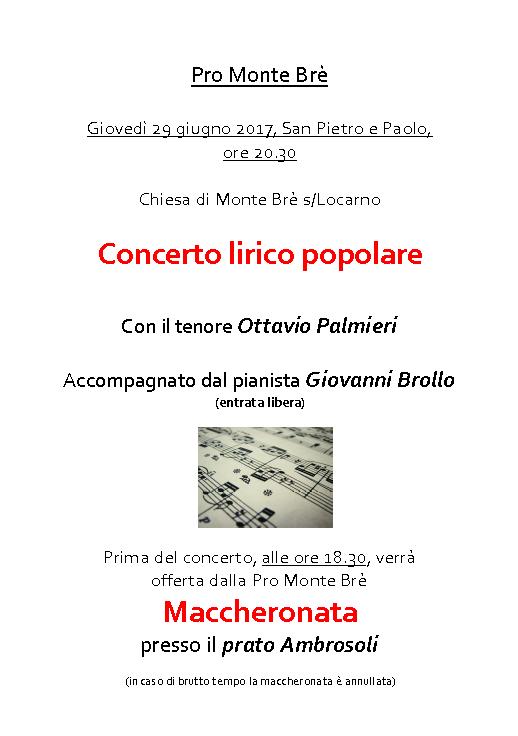 Concerto lirico + Maccheronata